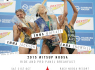 Witsup Noosa Ride and Breakfast Pro Panel
