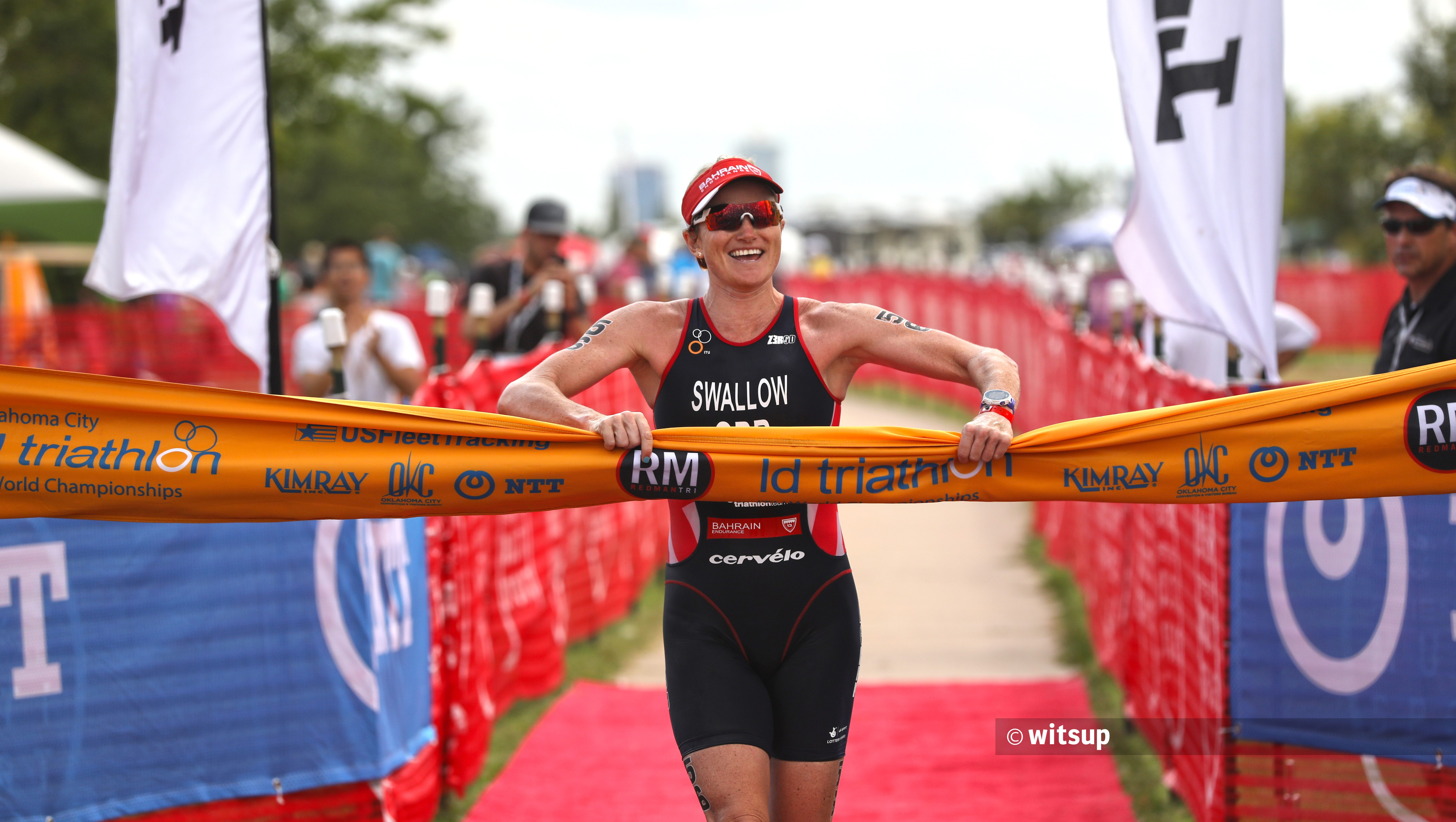 Sensational Swallow Wins ITU Long Distance World Champs